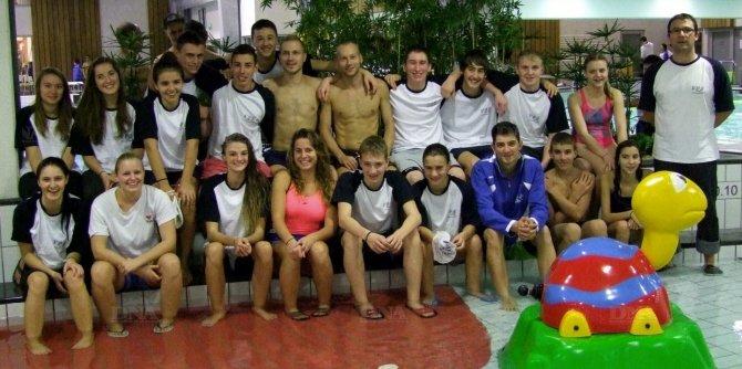 Tous les nageurs du club ont répondu présents avec panache.