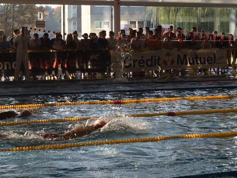 Steph et Agnel au relais 200 m NL